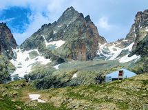 Monviso's view Royalty Free Stock Image