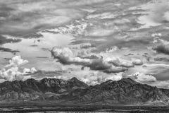 Monzón y montaña del verano Imagen de archivo libre de regalías