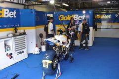 Monza 2012 - BMW Motorrad Italie Goldbet Image stock
