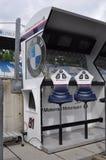 Monza 2012 - Mur de mine de BMW Motorrad Motorspot Photographie stock