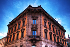 Monza-alter Palast Lizenzfreie Stockbilder