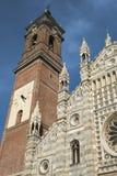 Monza Italia: catedral histórica Foto de archivo libre de regalías