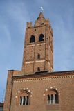 Monza Italy, the Arengario, medieval building Royalty Free Stock Images