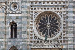 MONZA, ITALY/EUROPE - OCTOBER 28 : Large round window of the Cat royalty free stock photography