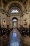 MONZA, ITALY/EUROPE - 28 OKTOBER: Altaar in de Kerk van St Ger royalty-vrije stock foto's