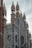 MONZA, ITALY/EUROPE - 28 OKTOBER: Buitenmening van Cathedra stock foto's