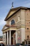 MONZA ITALY/EUROPE - OKTOBER 28: Fasad av kyrkan av St-Ge arkivfoto