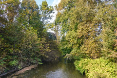 Monza Italy:  Lambro river in the park Stock Images