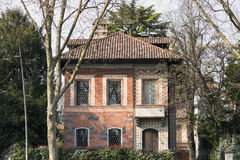 Monza (Italy): old house Royalty Free Stock Image