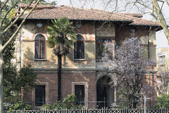 Monza (Italy): old house Stock Image