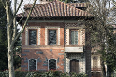 Monza (Italy): old house Stock Images