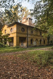 Monza Italy, the park in autumn. Mill Royalty Free Stock Photography