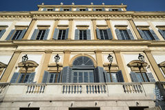 Monza (Italy): royal palace Stock Images