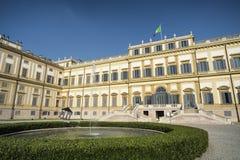 Monza (Italy): royal palace Royalty Free Stock Photo