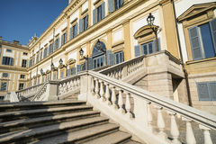 Monza (Italy): royal palace Royalty Free Stock Images