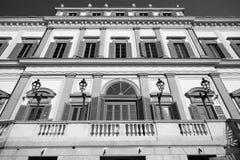 Monza (Italy): royal palace Stock Photography