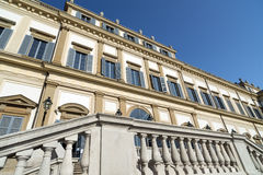 Monza (Italy), Villa Reale Royalty Free Stock Photos