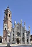 monza katedralna perspektywa zdjęcie royalty free