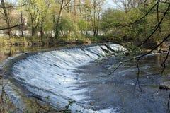 Monza Park: cascade Royalty Free Stock Image