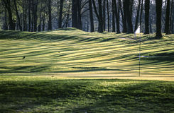 Monza Park, golf court Royalty Free Stock Photos