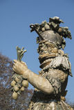 Monza park Italy: statue by Ferretti Royalty Free Stock Photography