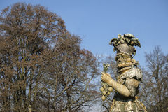 Monza park Italy: statue by Ferretti Stock Photos