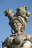 Monza park Italy: statue by Ferretti Royalty Free Stock Images