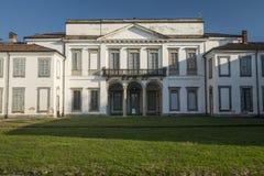 Monza park Italy: Villa Mirabello. Monza Brianza, Lombardy, Italy: exterior of Villa Mirabello, historic palace built in 17th century Stock Image