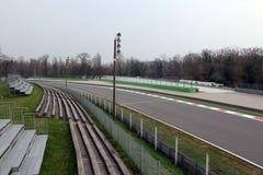 Monza-Rennstrecke Stockfoto