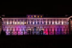 Monza royal palace. Villa reale monza near monza`s circuit and park Stock Photos