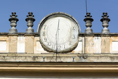 Monza, Villa Reale: sundial Stock Image