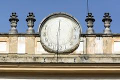 Monza, Villa Reale: zonnewijzer Stock Afbeelding