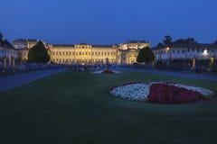 Monza - villa upplysta Reale Royaltyfri Foto