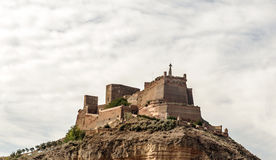 Monzon Castle Stock Photography