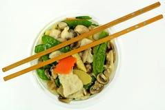 Moo Goo Gai Pan Lizenzfreies Stockbild