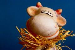Moo-koe snuit Stock Foto's