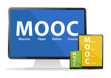 Mooc devices Royalty Free Stock Images