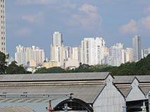 Mooca skyline Royalty Free Stock Images