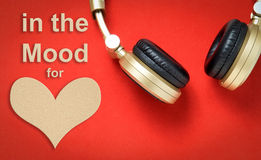 In the Mood for love Music Valentine Love Royalty Free Stock Images
