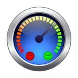 Mood meter. Stock Photo