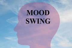 Mood Swing concept Royalty Free Stock Image