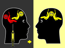 Mood Swings Medication Stock Image