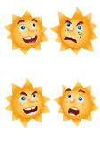 Moods of sun Stock Photos