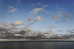 Moody Baltic sea. Stock Photography