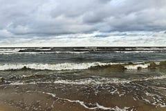 Moody Baltic sea. Royalty Free Stock Photos