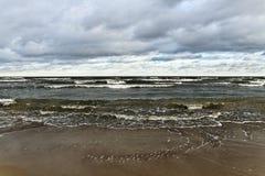 Moody Baltic sea. Royalty Free Stock Image