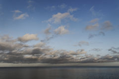 Moody Baltic sea. Stock Images