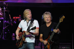 The Moody Blues Justin Hayward and John Lodge Royalty Free Stock Images