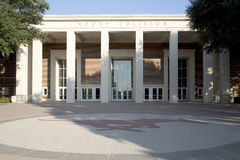 Moody Coliseum in SMU compus. Moody Coliseum in Southern Methodist university, city Dallas TX USA Stock Photos