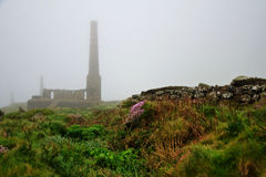 Moody Cornwall ~ Levant Mine Stock Photography
